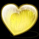 Melon Heart Sticker