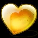 Pear Heart Sticker