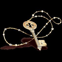 Key Necklace Sticker