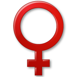 Sex Female Symbol Sticker