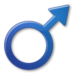 Sex Male Symbol Sticker