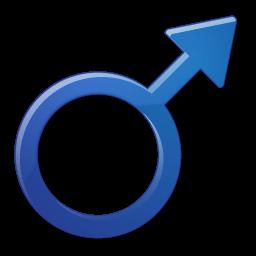 Sex Male Symbol Sticker