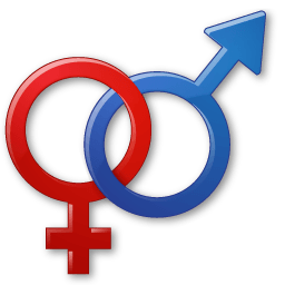 Sex Male Female Symbol Sticker