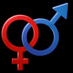 Sex Male Female Symbol Sticker