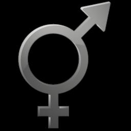 Sex Unknown Symbol Sticker