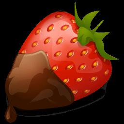 Strawberry Chocolate Sticker