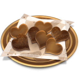 Chocolates Cookies Sticker