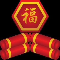Firecracker Sticker