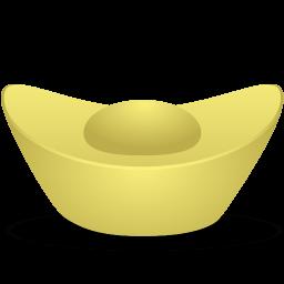 Gold Ingot Sticker