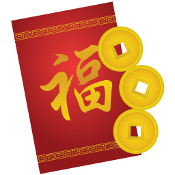 Red Envelope Sticker