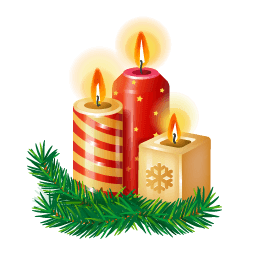 Candles Sticker