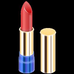 Lipstick Red Sticker