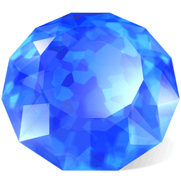 Sapphire Sticker