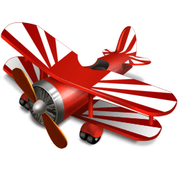 Avion Sticker