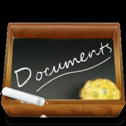 Dossier Ardoise Documents Sticker
