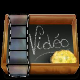 Dossier Ardoise Video Sticker