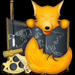 Firefox Old School Final Sticker
