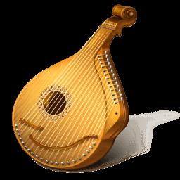 Mandolin Sticker