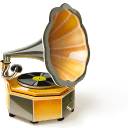 Phonograph Sticker