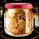 Money Jar Sticker