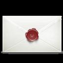 Secret Email Sticker