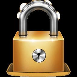 Lock Sticker