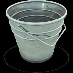 Empty Bucket Sticker