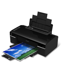 Printer Epson T40w Sticker