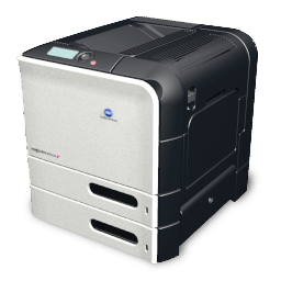 Printer Konica Minolta Mc 4650 Sticker