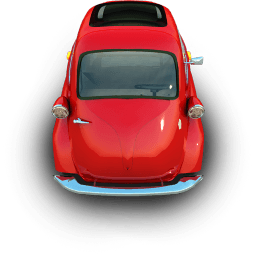Littleredcar Sticker