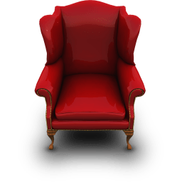 Redcouch Sticker
