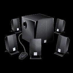 Creative Inspire Surround Speaker Sticker