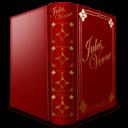 Jules Verne Book Sticker