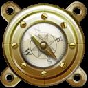 Nautilus Compass Sticker