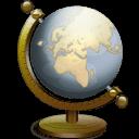 Nautilus Globe Sticker