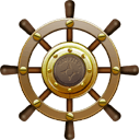 Nautilus Ship Steering Wheel Sticker