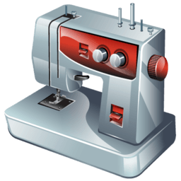 Sewing Machine Sticker