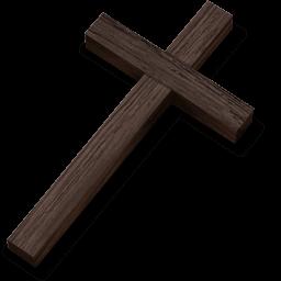 Crucifix Sticker