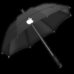 Appleparapluie Sticker