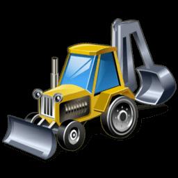 Bulldozer Sticker