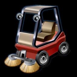 Road Sweeper Sticker