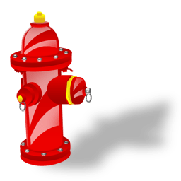 Fire Plug Sticker
