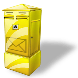 Letter Box Sticker