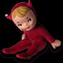 Devil Boy Sticker