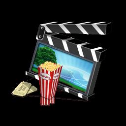 Movie Clapper Sticker