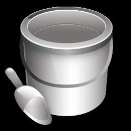 Construction Bucket Sticker