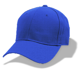 Hat Baseball Blue Sticker