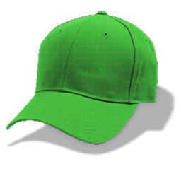 Hat Baseball Green Sticker