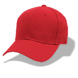 Hat Baseball Red Sticker