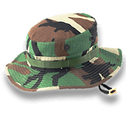 Hat Camo Sticker